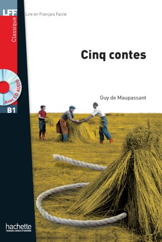 Cinq Contes + CD Audio MP3 (B1) (Lff (Lire En Francais Facile)) (French Edition)