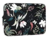 Kate Spade Wilson Rd Botanical Laptop Case Sleeve Black Multi 13''