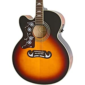 epiphone eej4lvsgh3 acoustic electric guitar left handed vintage sunburst musical. Black Bedroom Furniture Sets. Home Design Ideas
