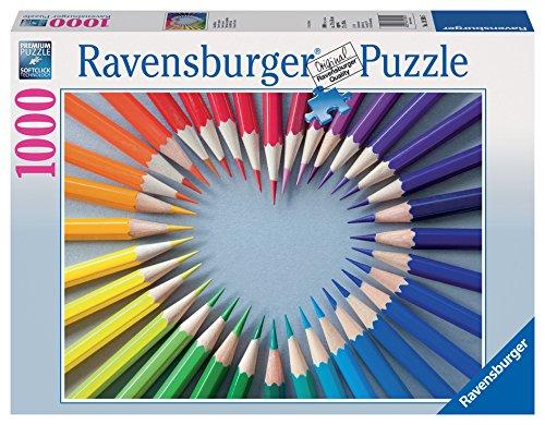 Ravensburger Color my Heart Puzzle (Puzzle Piece Heart)