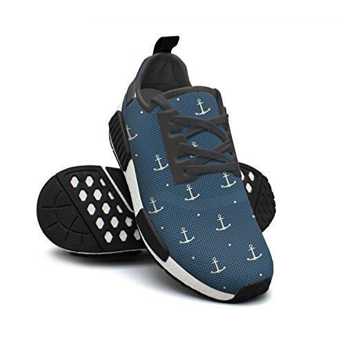 ououla bleu foncé bateau ancre   coureurs mignon nmd pk exigeant trail coureurs  chaussures e0538a