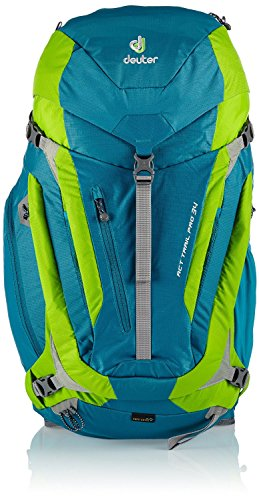 Deuter ACT Trail Pro Backpack (All Sizes, Colors) (Petrol/Kiwi, 34)