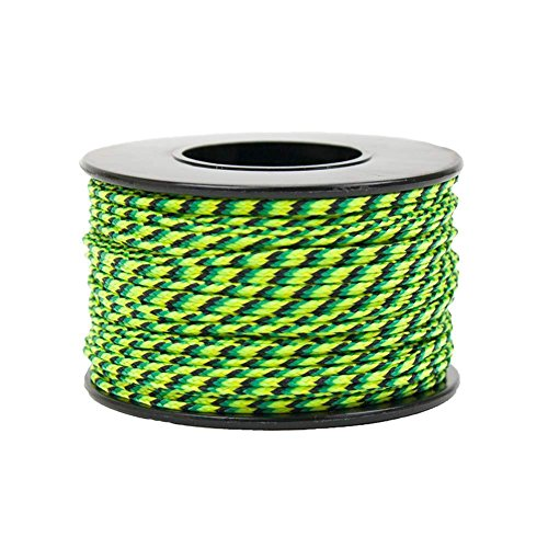 - Micro Sport Cord 1.18mm X 125 Ft Small Spool Lightweight Braided Cord (Gecko)