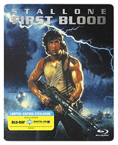 Rambo First Blood [Blu-ray Steelbook + Digital HD]