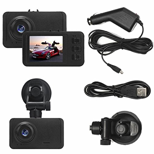 Creazy® 1080P HD CAR DVR G-sensor IR Night Vision Vehicle Video Camera Recorder Dash Cam