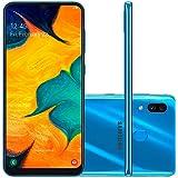 Smartphone Samsung Galaxy A30, 64Gb, Tela 6.4'', Azul, Sm-A305Gzbbzto