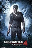 Uncharted 4 Poster A Thief's End (61cm x 91,5cm) + a surprise poster!