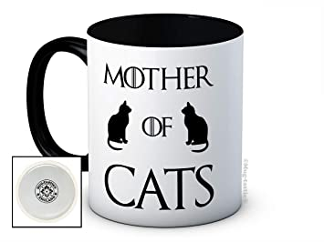 19c3220f004 Amazon.de: Mother of Cats - Lustig Hochwertige Kaffeetasse