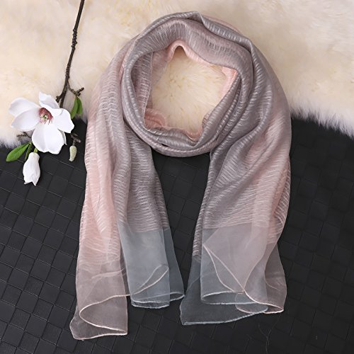 In And Autumn Winter Long Spring OME Match Silk Shawl All With amp;QIUMEI The Grey Thin Scarf xRqwOFz7