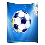 Hippie Tapestry Art Wall Hangings Tapestries Soccer Football Ball For Kids 60''x90''
