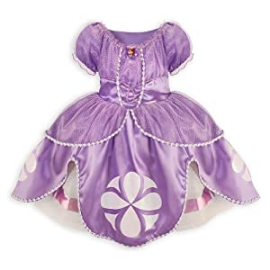Disney Sofia the First Dress Costume for Girls Small 5 / 6 Sophia - 51g8YG5XtAL - Disney Sofia the First Dress Costume for Girls Small 5 / 6 Sophia