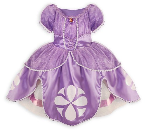 Sophia The First Costumes (Disney Sofia the First Dress Costume for Girls Small 5 / 6 Sophia)