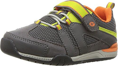 Stride Rite Kids Moss Sneaker Shoes Grey 7