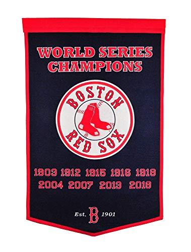 Winning Streak Boston Red Sox 2018 MLB World Series Champions Dynasty Banner
