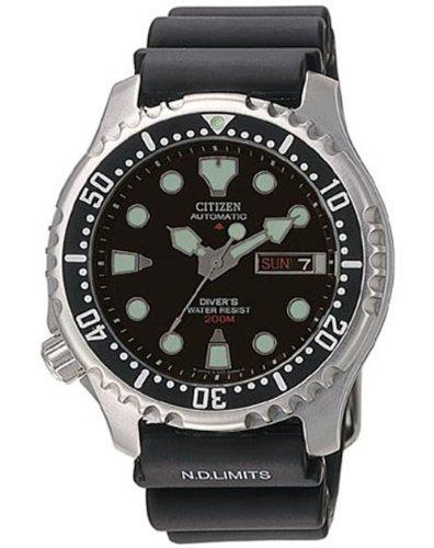 Citizen Promaster Diver NY0040-09EEM - Reloj analógico automático para Hombre, Correa de Acero Inoxidable Color Plateado: Amazon.es: Relojes