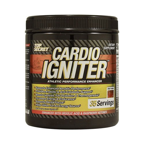Wholesale Top Secret Nutrition Cardio Igniter - Fruit Punch - 11.21 oz, [Sports/Fitness, Muscle Growth]