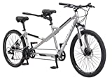 "Schwinn Twinn Tandem 26"" Wheel Bicycle, Grey, One Frame Size 20"""