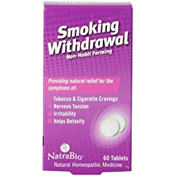 Natrabio Smoking Withdrawal Tablets, 60 Count