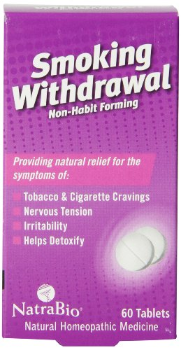 Natrabio Smoking Withdrawal Tablets Count product image