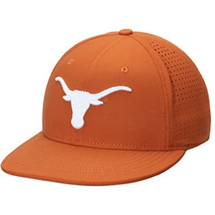 100% authentic f9f84 df66f Image Unavailable. Image not available for. Color  NIKE Men s Texas Orange  Texas Longhorns True Vapor Performance Fitted Hat 7.5
