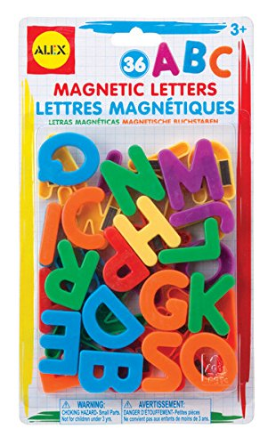 Alex Artist Studio Magnetic Letters Kids Art and Craft Activity