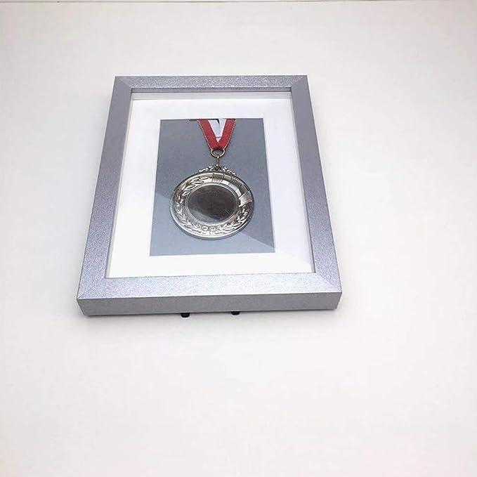 ZHXY Caja expositora Insignias Caja exhibición medallas medallas Militares,Marco para exhibir medallas,Medalla de Deportes Cuadro en 3D Marcos de Fotos,Más tamaños,Oro,Plata,Negro,púrpura: Amazon.es: Hogar