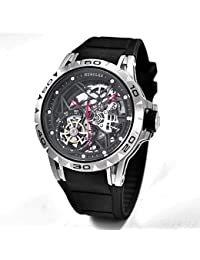 Tourbillon Watches Wrist Watches Skeleton Mechanical Stainless Steel Executive Automatic Luxury Jewels Precise...