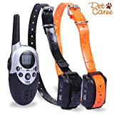 Training Dog Collar - Dog Training Collar, Training Shock Collar With Remote 1100 Yard Electronic Shock Dog Collar For 2 Dogs by IB-SOUND
