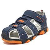 Cior Boy Sports Sandals Closed Toe children Athletic Beach Shoes (toddler/little Kid/big Kid) Sc081 Blue 25 | amazon.com