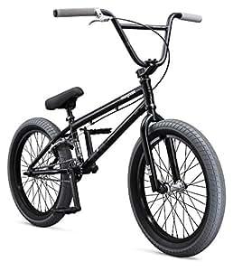 "Mongoose Boys Legion L100 Bicycle, Black, One Size/20"""