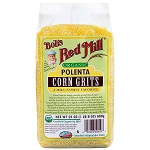 Bob's Red Mill, Organic Corn Polenta Grits, 24 oz