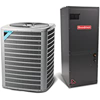 5 Ton 13 SEER Multi Speed Daikin Commercial Central Air Conditioner Split System - Multiposition