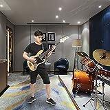 GLARRY 4 String GJazz Electric Bass Guitar Full