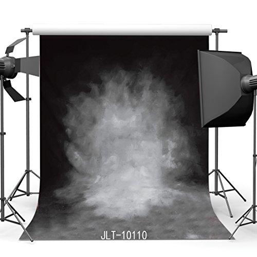 SJOLOON 5x7ft Photography Backdrop Thin Vinyl Smoky Grey Retro Background For Photo Studio Props 10110