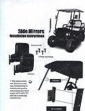 BETOOLL-HW9008-Golf-Cart-Folding-Side-View-Mirrors-For-Club-Car-EZGO-Yamaha-Star-Zone-Carts