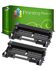 Printing Pleasure Twin-Pack DR3100 DR3200 Black Drum Units compatible with Brother MFC-8380DN MFC-8460N MFC-8860DN MFC-8890DW DCP-8060 HL-5240 HL-5250DN HL-5270DN HL-5280DW HL-5340D HL-5380DN
