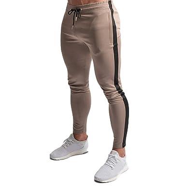plus de photos 13b8e e7c50 Homme Pantalon Fitness Jogging Pantalon de Sport Jogger ...