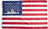 Americas and Americas USA 911 Sewn Nylon Flag, 3 by 5-Feet