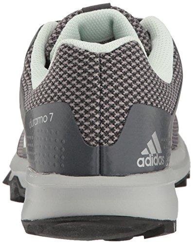 Adidas Performance Donna Duramo 7 Trail W Scarpa Da Corsa Grigio Scuro Melange / Ghiaccio Menta / Grigio