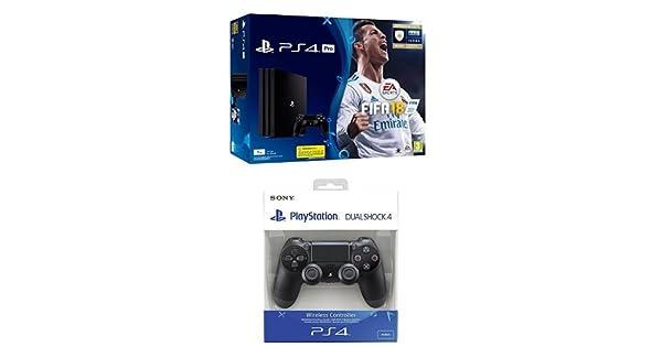 PlayStation 4 Pro (PS4) - Consola de 1 TB + FIFA 18 + Sony ...