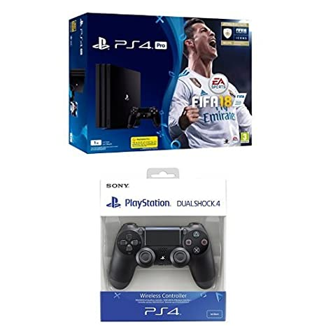 PlayStation 4 Pro (PS4) - Consola de 1 TB + FIFA 18 + Sony ...