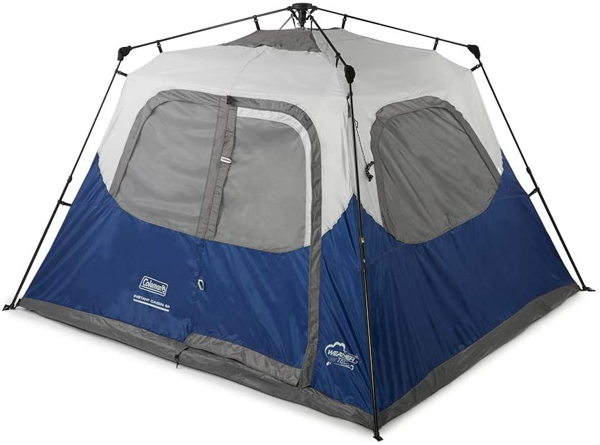 Coleman 6 Person Instant Cabin Tent Specifications