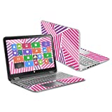 MightySkins Skin Compatible with HP Envy x360 15.6' (2014) wrap Cover Sticker Skins Lipstick