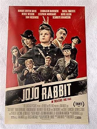 Jojo Rabbit Poster >> Jojo Rabbit 13 5 X20 Original Promo Movie Poster 2019
