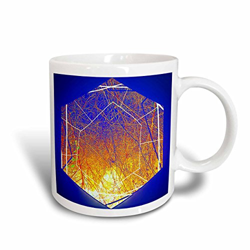Crux Tee - 3dRose DYLAN SEIBOLD - PHOTO ABSTRACTION - Million Sun Cruxes - 11oz Mug (mug_262722_1)