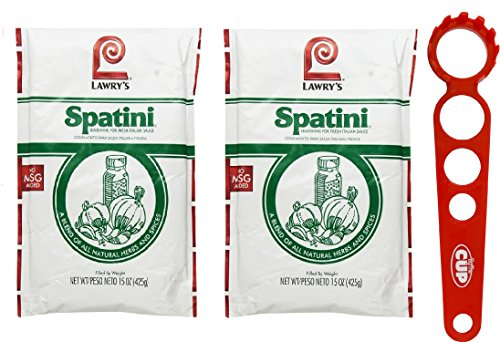 Spatini Spaghetti Sauce (Pack of 2) + Pasta Pal