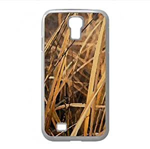 Dry Grass Watercolor style Cover Samsung Galaxy S4 I9500 Case (Autumn Watercolor style Cover Samsung Galaxy S4 I9500 Case)