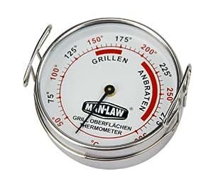 Man Law MAN-T387 - Termómetro para barbacoas