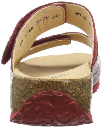 72 Kombi Rot Femme Chaussures Rosso Claquettes de Rouge Think Mizzi q6zwBCgg