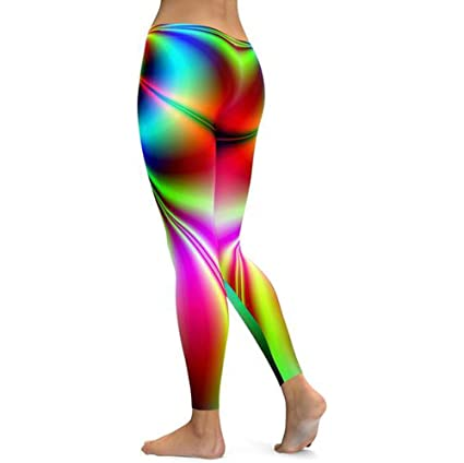 WUDUBE - Leggings para Mujer, Estampados, para Yoga, Fitness ...